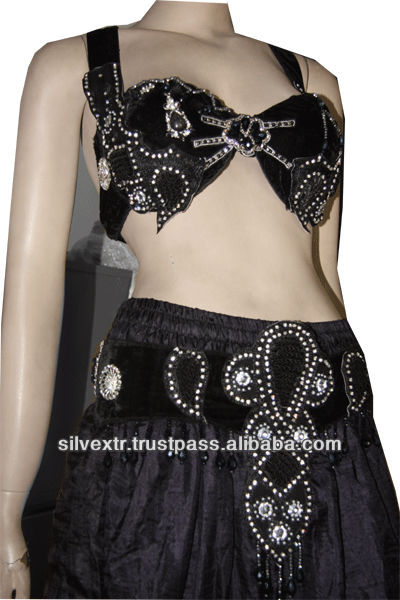 Bellydance Bra and belt set