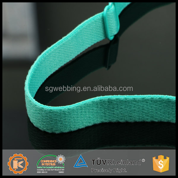 Good quality comfortable colored elastic shoulder band for bra