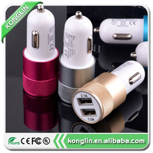 Professional micro usb 5V/2A car charger,universal multi port usb charger,made in China