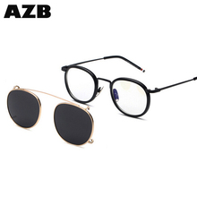 AZB Professional clip on sun glasses novelty sunglasses dropshiping