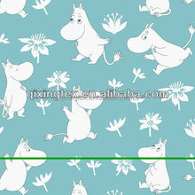 2016 latest digital hippo printted fabric for swimwear