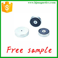isotropic Cup Shape Ferrite Pot Magnets