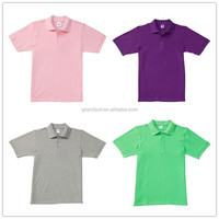 Custom family matching style comfortable fabric hot sale shirt polo