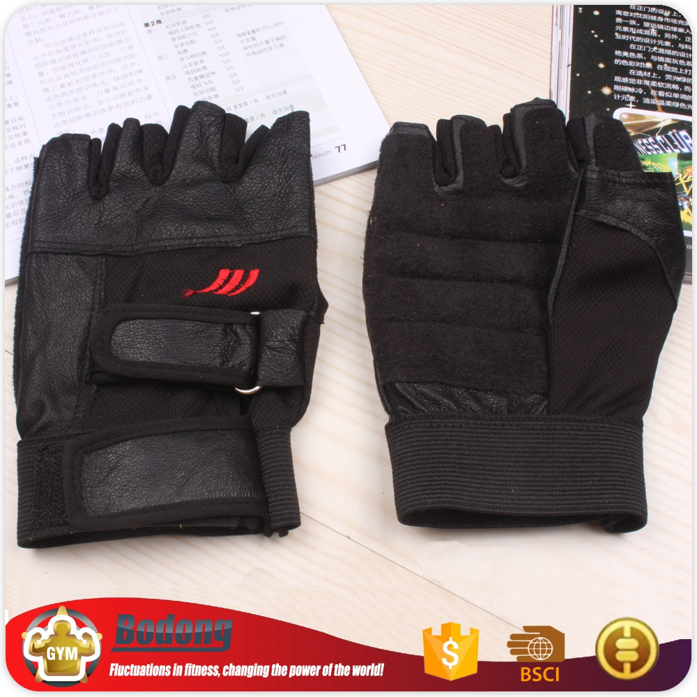Hot China factory women's crossfit gloves glove for body building for sale