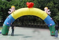 Angle babies inflatable wedding arches for sale/ inflatable arches for wedding K4041