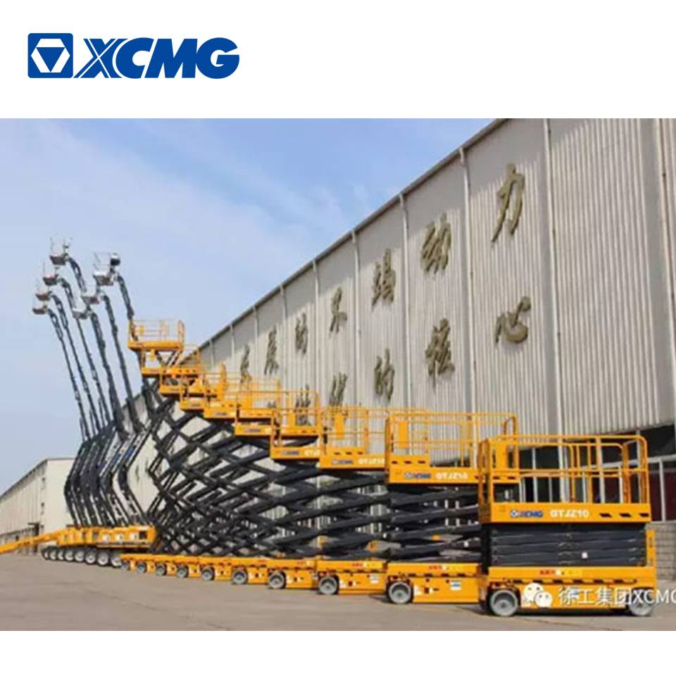 XCMG Famous 6-15m electric Scissor Aerial Working Platform