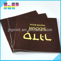 Alibaba gold supplier saddle stitching small instruction brochure printing