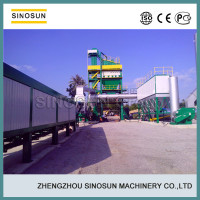 Super quality with SIEMENS PLC control stationary SAP120 asphalt hot mix plant, bitumen production plants