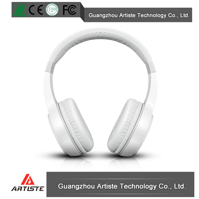 Cell Phones Accessories stylish branded usb bluetooth white headphones oem