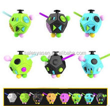 The 2rd Generation Anti Stress Anxiety Relief 12 Faces Fidget Cube Focus Attention Creative Educational Toys For Adults Children