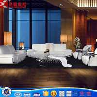 modern leather sofa for restaurant