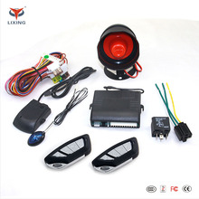 Remote control DC12 OEM one way Car alarm system