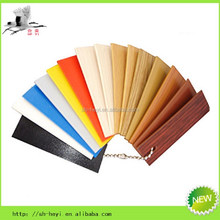 various color and size flexible plastic edging for sheet metal