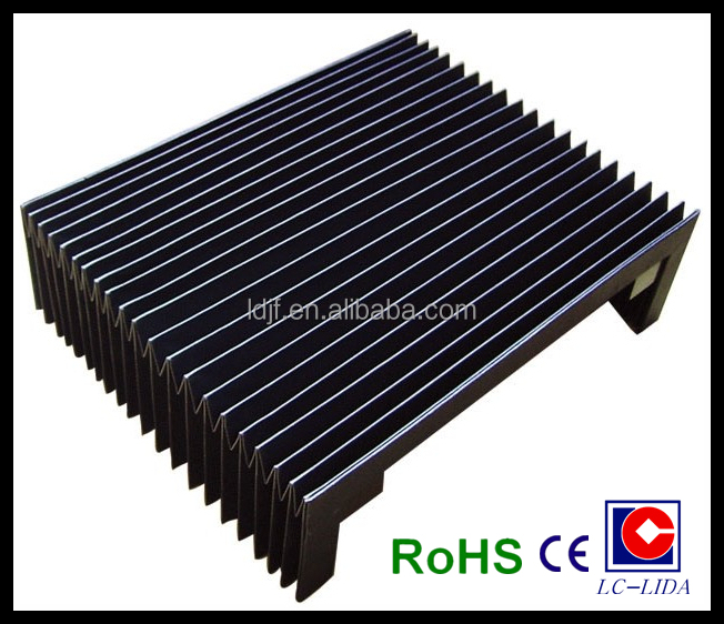 fabric flexible protective accordion bellows cover china manufacturer