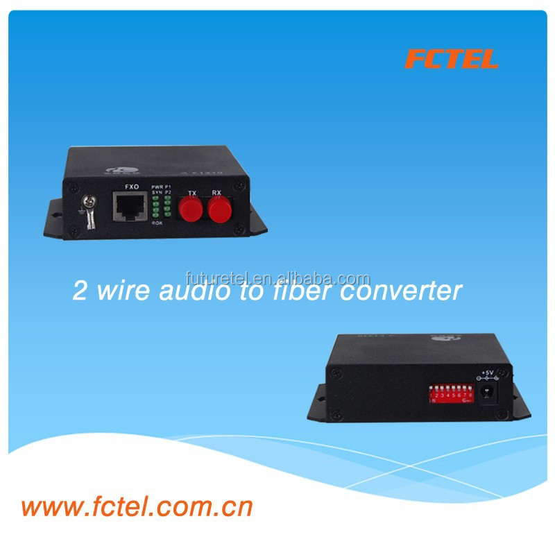 China voice mux FXO/FXS EM 2/4 Line,1+1 fiber ports SFP fiber module voice over fiber series 2voice mini-type Multiplexer