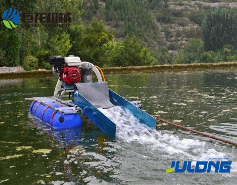 Julong 4 Inch Easy-Operated Gold Dredge with Pump