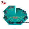One Sided 4 Foldable Blackjack Octagonal Poker Table Top