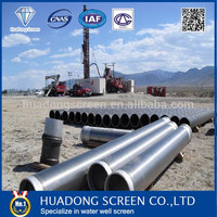 2016 New sieve tube/round filter/water well screen pipe