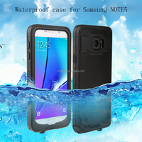 2016 hot selling waterproof case for note 5