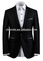 2015 New Collection High Quality Fashion Business Wedding Slim Fit Man Suit