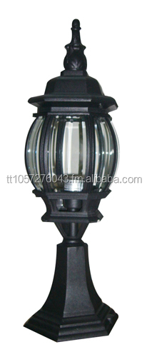 Black Outdoor Post Light