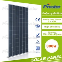 250W solar panle with complete parts assembling