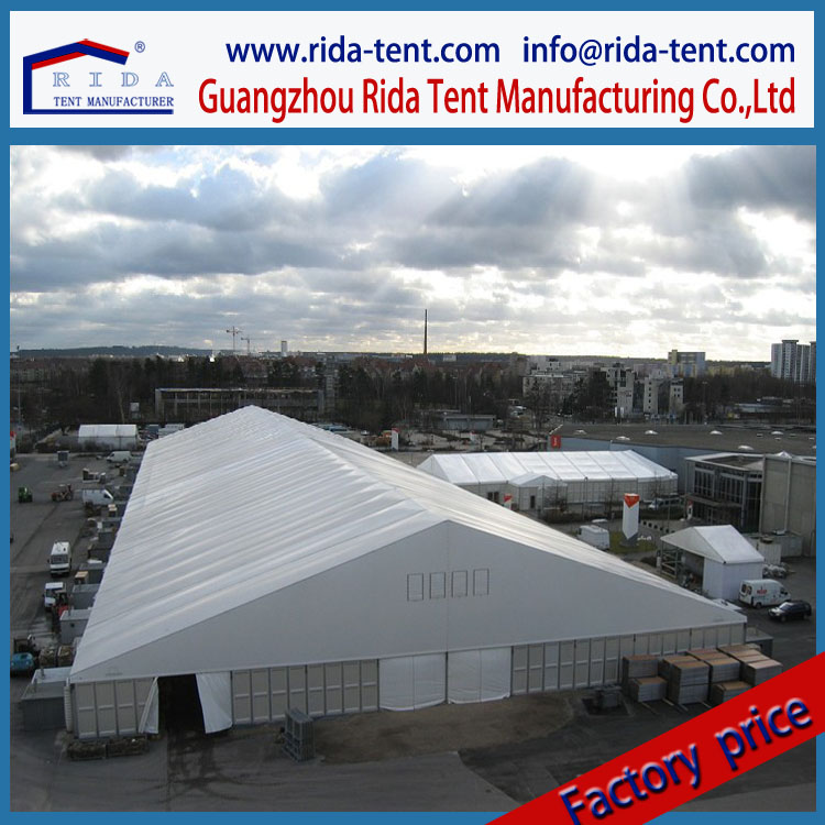 Durable large industrial tent construction temporary workshop tent disposable warehouse tent