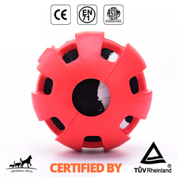 indestructible toy rubber balls dog chew bone toy