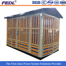 YBW outdoor switchgear cubicle 500kva transformer substation