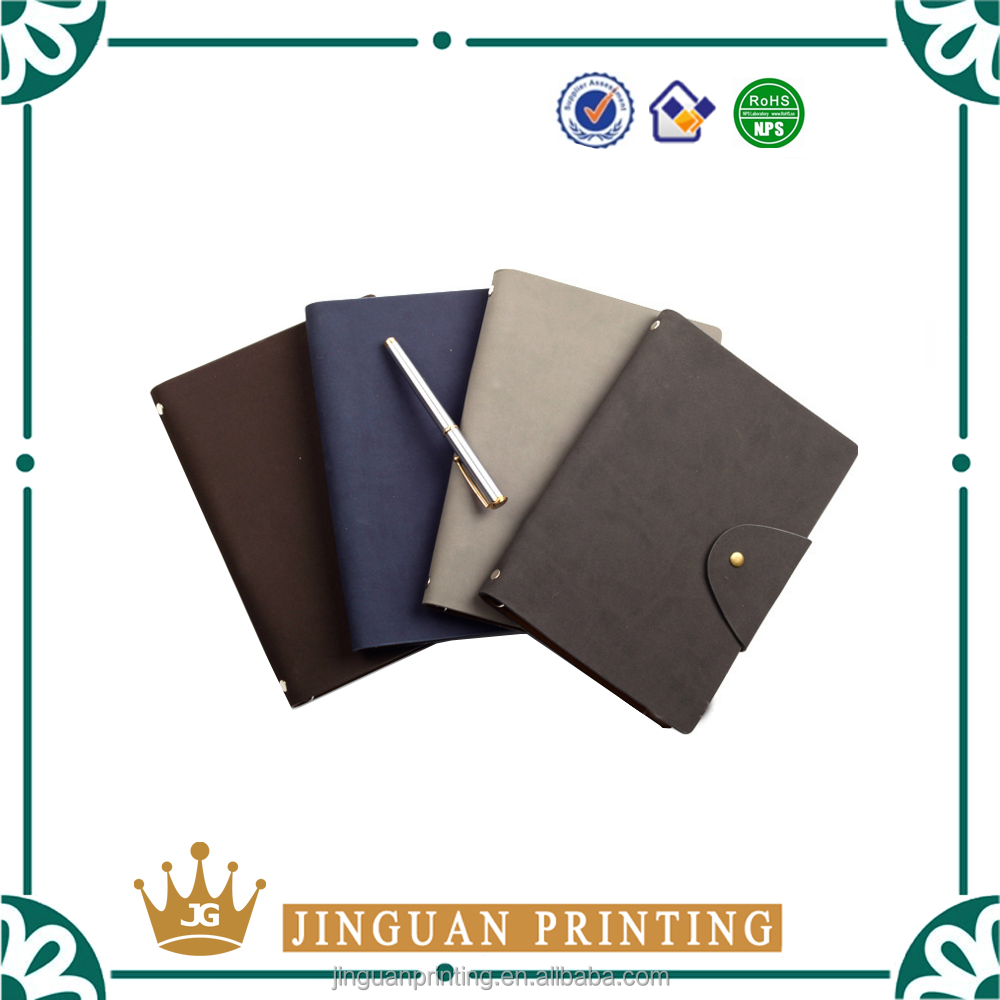 China manufacture textured pu leather material/creative books cover design