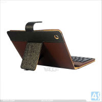 Stand Wireless Bluetooth Keyboard Leather Case for iPad Mini P-iPDMINICASE119