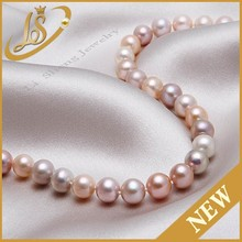 Hot sale 6mm 7mm 8mm white round river pearl strand wholesale prices