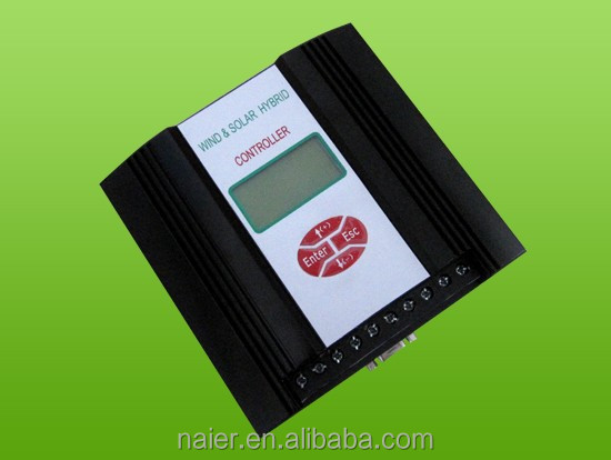 300W wind solar hybrid charge controller with LCD Screen