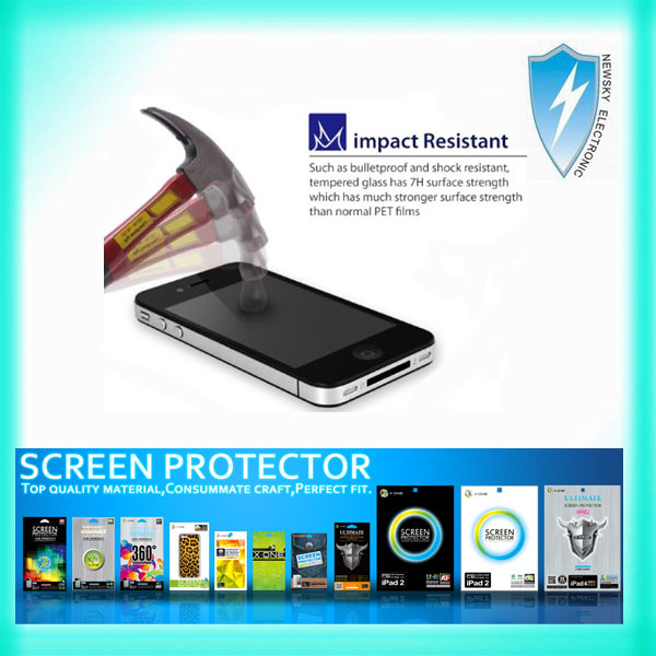 Screen protector film, tempered glass sreen protector for Samsung Galaxy S4