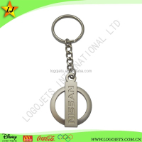 custom car logo metal key chain key ring