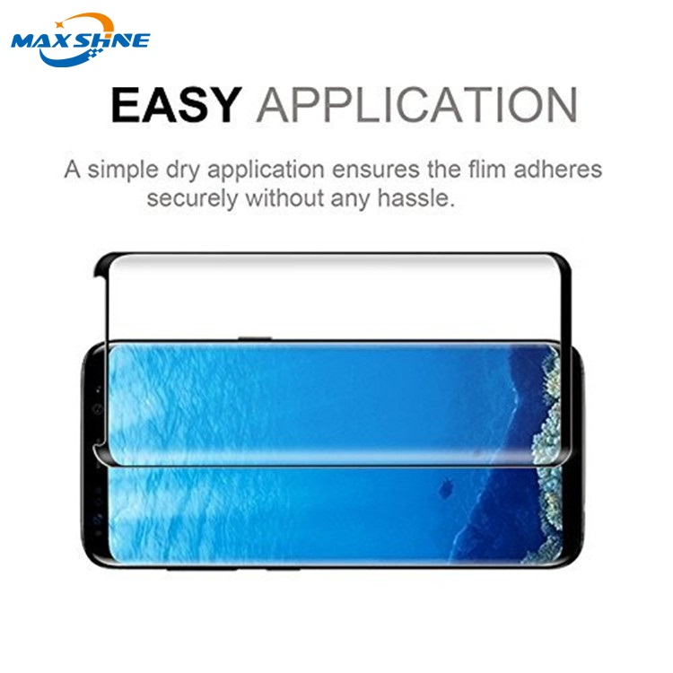 9H Tempered Glass 3D Screen Protector for Samsung S8/S8 Plus Tempered Glass Screen Protector