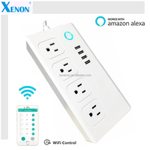 Xenon WiFi Switch Socket Remote Control Smart Outdoor Power Outlet
