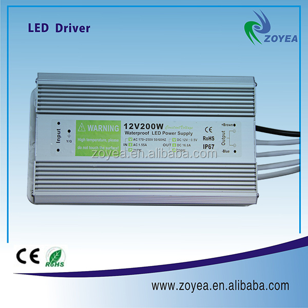 200watt Factory outlet CE Rohs approved 24V waterproof FSV-200-24 200w switching power