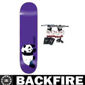 Backfire skateboard custom surfboard graphics