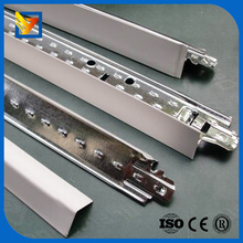 ceiling grid types suspended flat ceiing steel t-bar size