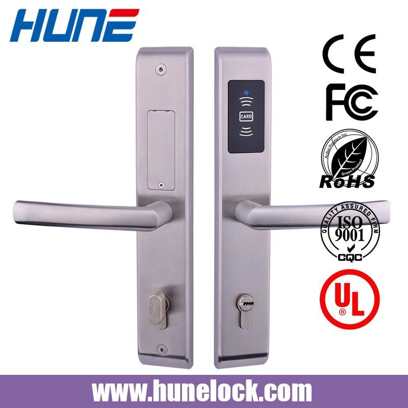 Korean Keyless Smart Rfid Magnetic Card Hotel Door Lock Using Free Management System