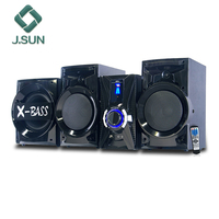 Super bass 2.1 HIFI Speakers and 10'' Subwoofer Home Theatre with usb fm