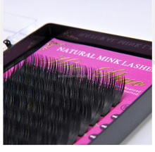 Good quality 100% Real Mink material Single Eyelash extensions