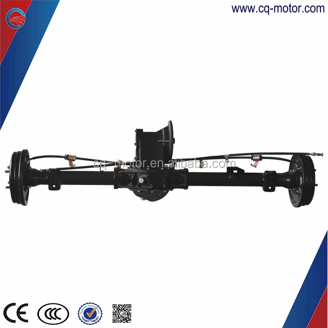 Electric vehicle 7kw 60v or 96v Drum Brake Differential Bajaj Eelctric car brushless Dc Motor