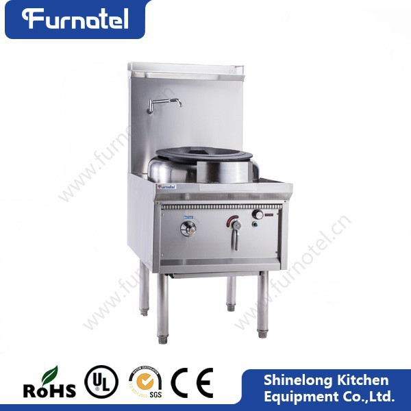 Guangzhou Commercial Stainless Steel With Burner Chinese Wok