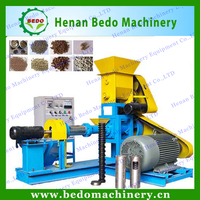 BEDO CE approval advanced floating fish food machine/pet fish food pellet making equipment