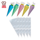 10PCS 14 inch disposable PE piping bags cake decorating pastry bags cupcake decorating piping icing bags