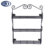 2016 China supplier wall mounted 3 tiers metal spice rack Spice Jars Holder Kitchen Spice Organizer