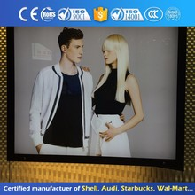 Fashion Led Light Box High Quality Scrolling Sign Board Price