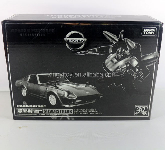 "Takara Tomy KO Transforms Masterpiece Nissan Fairlady 280Z-T MP-18S Silverstreak Autobot 18cm/7"" toy Action Figure"